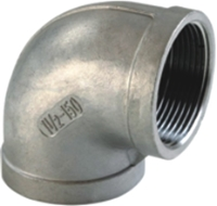 Picture of SS316 CL150 NPT 90° Elbow (F-F)