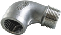 Picture of ANIX Stainless Steel CL150 NPT 90° Elbow (M-F)