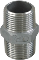 Picture of SS316 CL150 NPT Hex Nipple