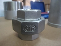 Picture of SS316 CL150 NPT Union (M-F)