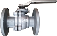 Picture of WCB Flanged 2PC Full Port Ball Valve ANSI 300 - Undrilled
