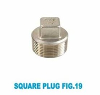 Picture of SS316 CL150 NPT Square Plug