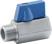 Picture of Mini Ball Valve SS316 M/F
