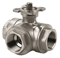 Picture of 3 Way T Port Ball Valve 1000WOG