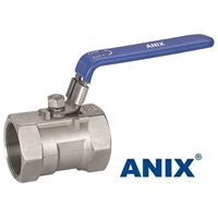Picture of ANIX Stainless Steel 1-Piece Reduced Port Ball Valve 1000 WOG  Threaded NPT