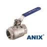 Picture of ANIX Stainless Steel 2-Piece Full Port Ball Valve 1000 / 2000 WOG  Threaded NPT