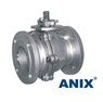 Picture of ANIX Stainless Steel  2-Piece Full Port Ball Valve Class 150 / 300 RF (Fire Safe)