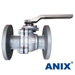 Picture of ANIX Carbon Steel  2-Piece Full Port Ball Valve Class 150 / 300 / 600  RF (Fire Safe)