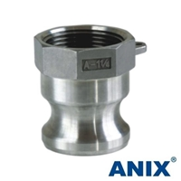 Picture of ANIX Stainless Steel 316 Camlock  Adapter Type A