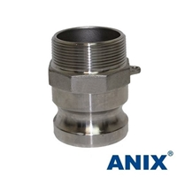 Picture of ANIX Stainless Steel 316 Camlock  Adapter Type F