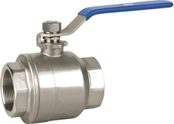 Picture of ANIX Stainless Steel 2-Piece FIRE SAFE Full Port Ball Valve 2000 / 3000 WOG Threaded NPT
